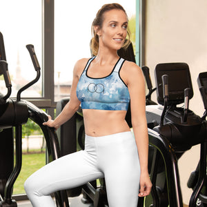 PAQ Womens Blue Dream Sports bra