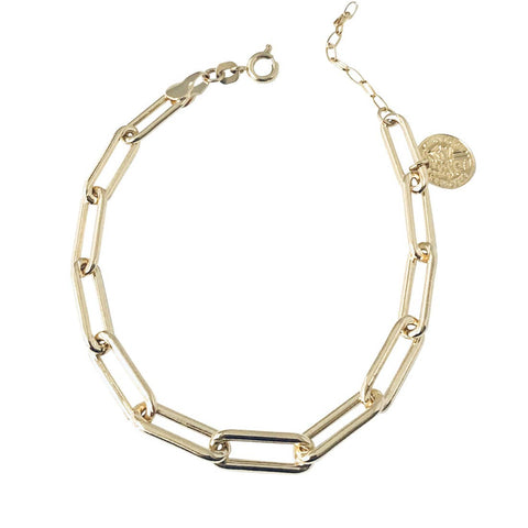 Bailey Clip and Coin Bracelet