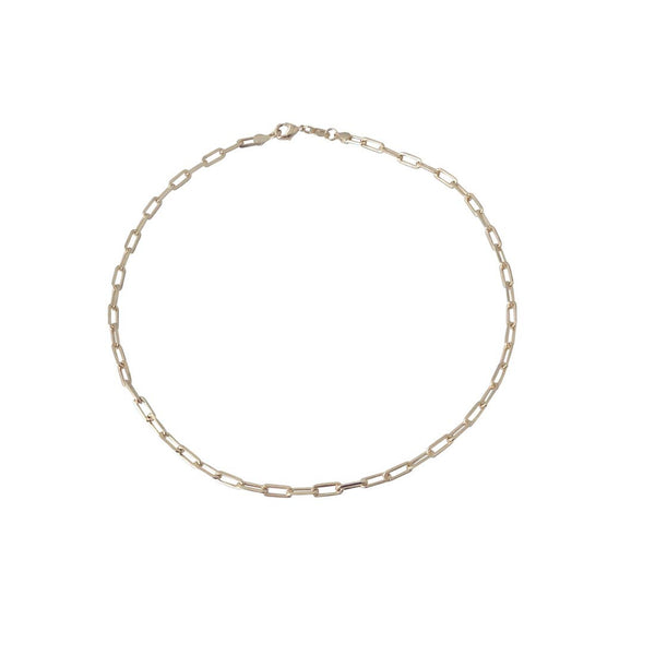 Gold-filled Clip Chain Choker