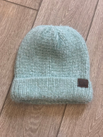 Rose Lake Co. | C.C. Chenille Textured Beanie - Mint