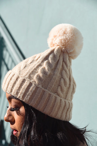 Rose Lake Co. | Knit Pom Pom Beanie
