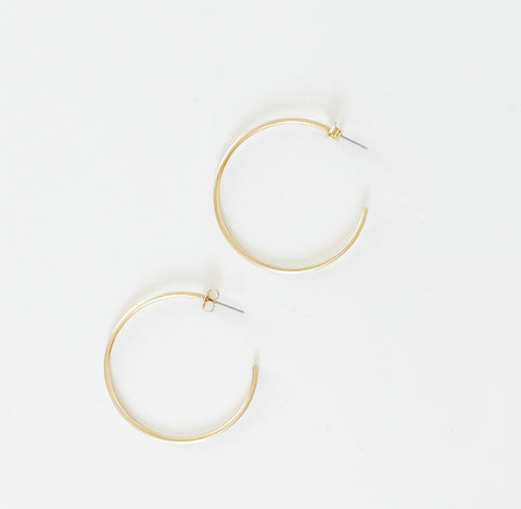 Mya Gold Hoops
