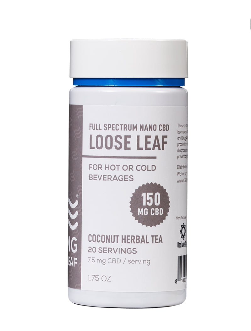 CBD Living Loose Leaf Tea Coconut