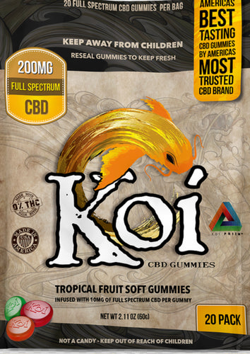 Koi Tropical gummies