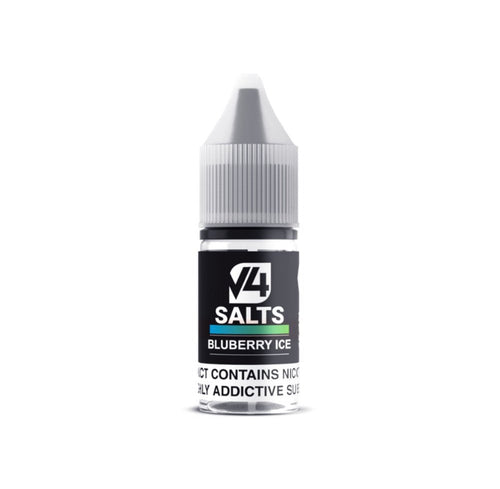 V4 Salts - Blueberry Ice 10ml