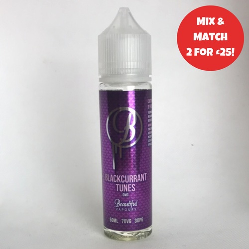 Beautiful Vapours - Blackcurrant Tunes 50ml
