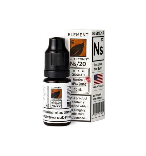 Element - Chocolate Tobacco Designer 20mg 10ml