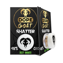 Load image into Gallery viewer, Dope Goat - CBD Shatter Rocks 1G
