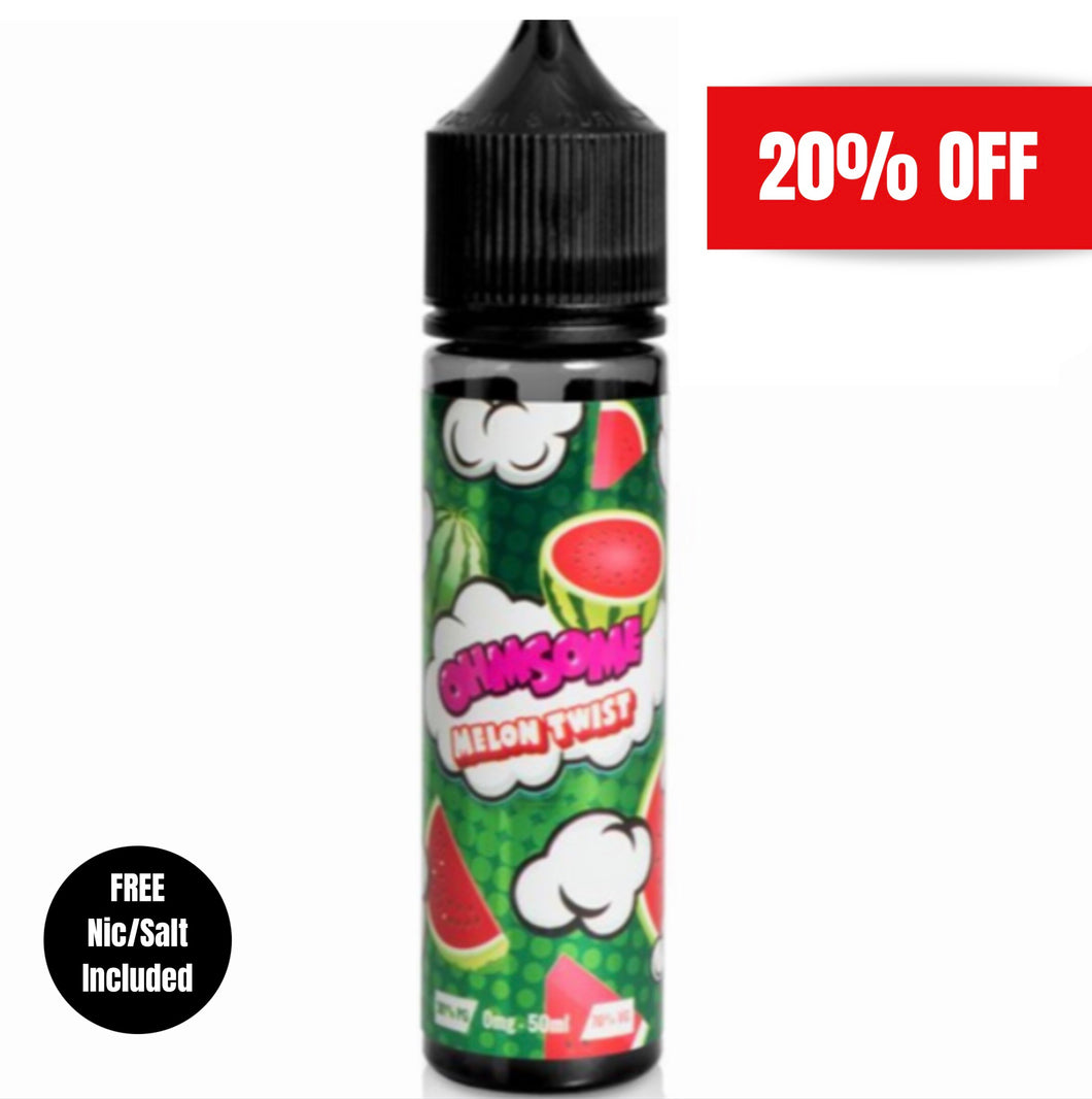 Ohmsome - Melon Twist 50ml