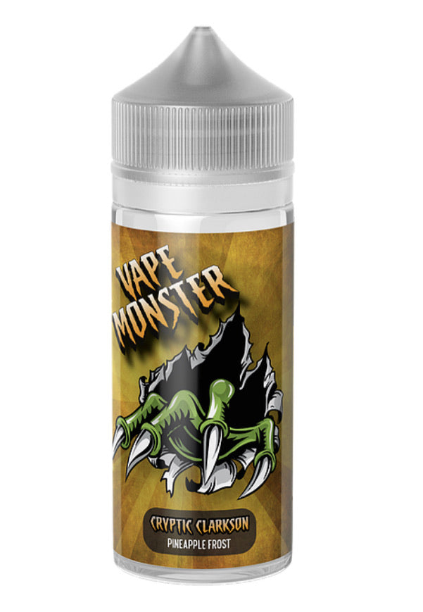 Vape Monster - Cryptic Clarkson Pineapple Frost 100ml