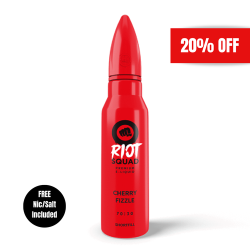 Riot Squad - Cherry Fizzle 50ml