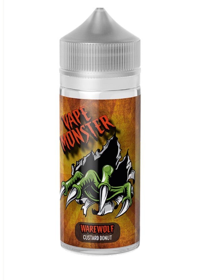 Vape Monster - WareWolf Custard Donut 100ml