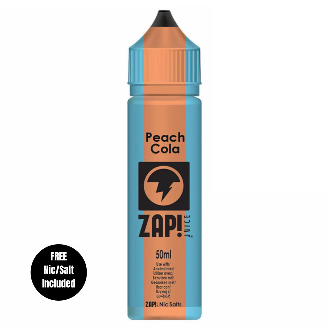 Zap - Peach Cola 50ml