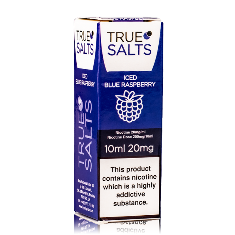 True Salts - Iced Blue Raspberry Nicotine Salt 10ml
