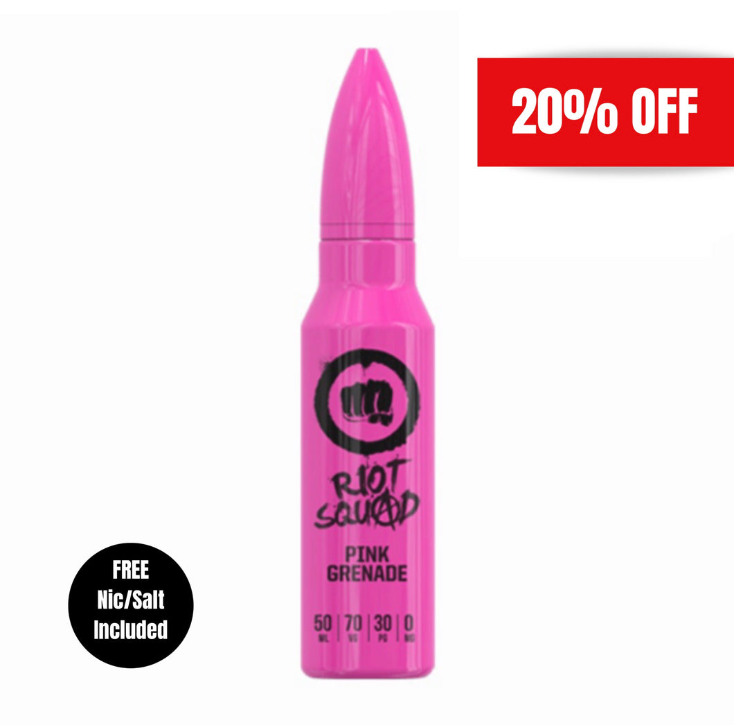 Riot Squad - Pink Grenade 50ml