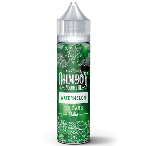 Ohm Boy Chilled - Watermelon Rhubarb 50ml