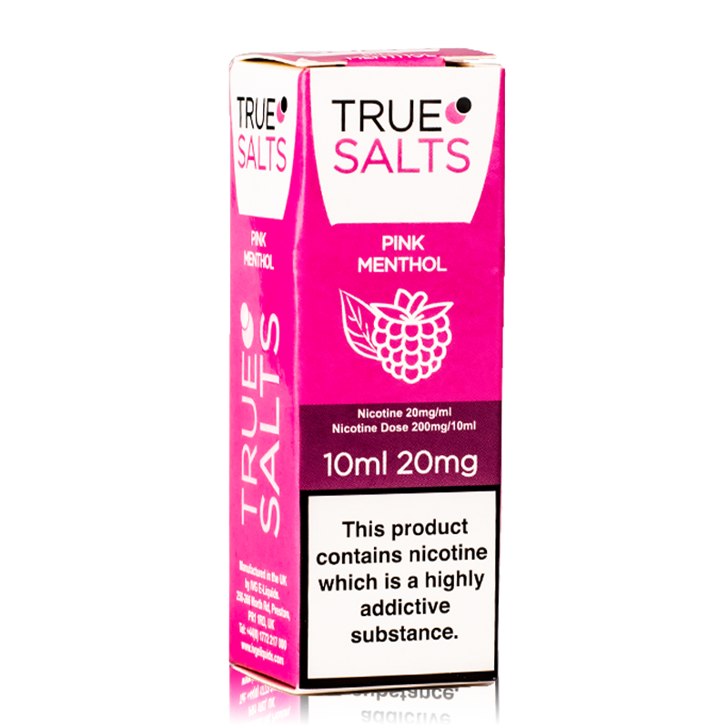True Salts - Pink Menthol Nicotine Salt 10ml