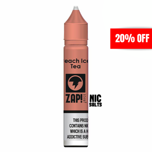 Zap - Peach Ice Tea 20mg 10ml Nicotine Salt