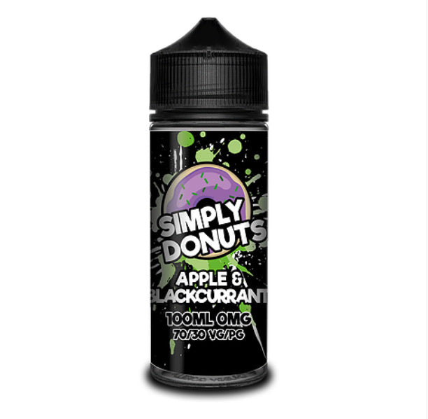 Simply Donuts - Apple & Blackcurrant 100ml