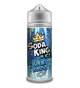 Soda King on Ice - Blue Razz 100ml