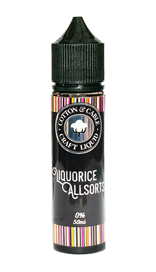 Cotton & Cable - Liquorice Allsorts 50ml