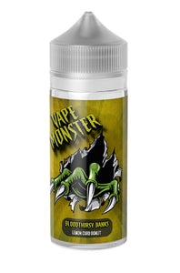 Vape Monster - Bloodthirsty Banks Lemon Curd Donut 100ml