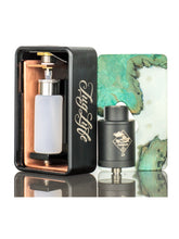 Load image into Gallery viewer, Tugboat -RDA Squonk Kit - Orange & Wood