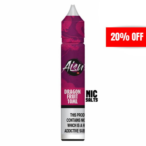 Aisu - Dragonfruit 20mg 10ml Nicotine Salt