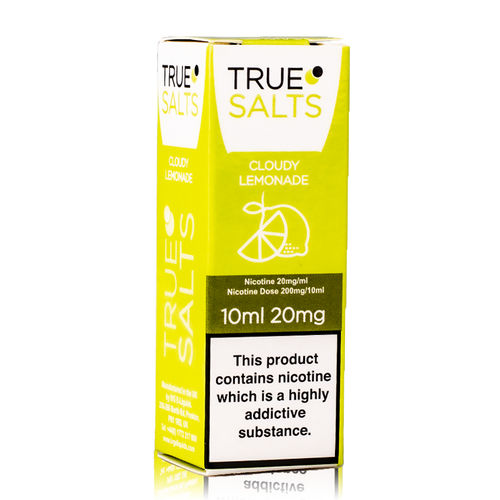 True Salts - Cloudy Lemonade Nicotine Salt 10ml