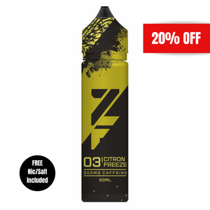Z Fuel - Citron Freeze 300mg Caffeine 50ml