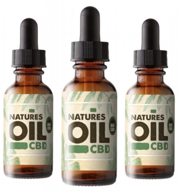 Natures Oil - CBD Oil Tincture 30ml (2500mg)
