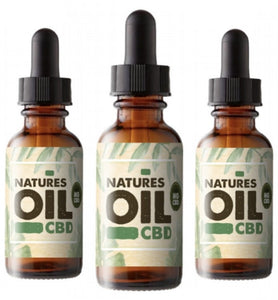 Natures Oil - CBD Oil Tincture 20ml (150mg-300mg)