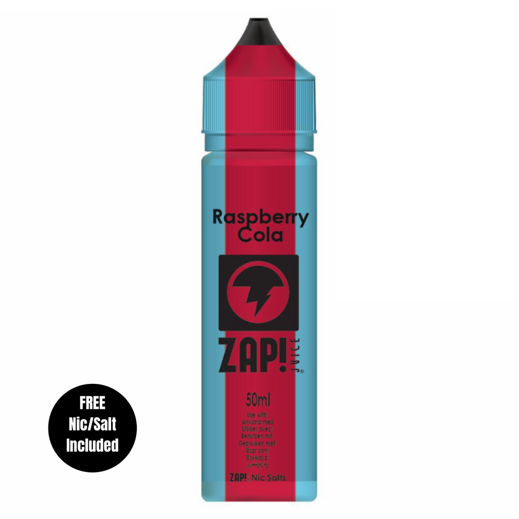 Zap - Raspberry Cola 50ml