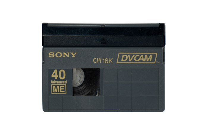 DV/DVCam Format - Small Tape