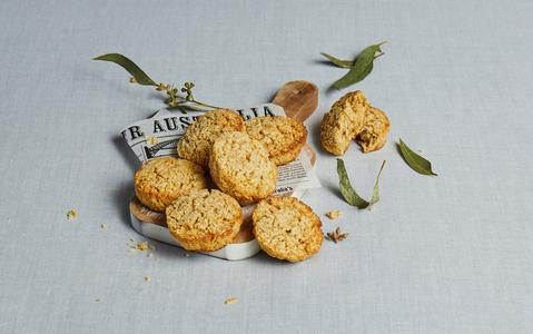 Buttery Oatmeal Soldier Biscuits