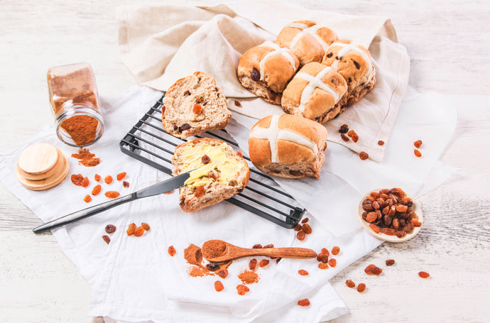 No Added Sugar Hot Cross Buns