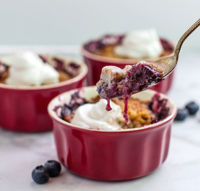 Gluten Free Mixed Berry Crumble