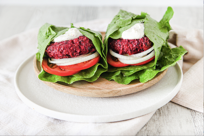 Hemp & Beetroot Burgers