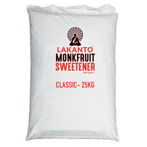 Classic Monkfruit 1:1 White Sugar Substitute Bulk 25kg