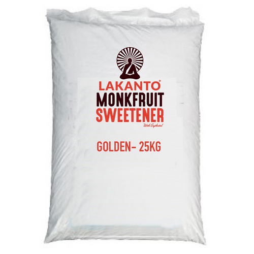 Golden Monkfruit 1:1 Raw Sugar Substitute Bulk 25kg