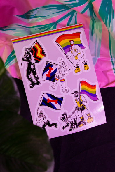 Pride Sticker Sheet #2 (A5 Size)