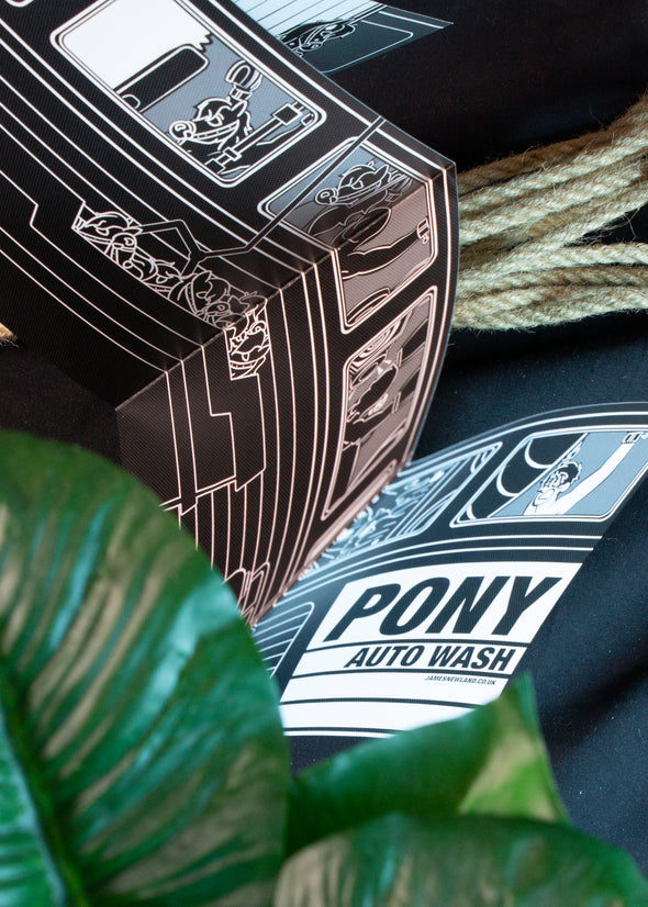 Pony Auto Wash (Fold Out)