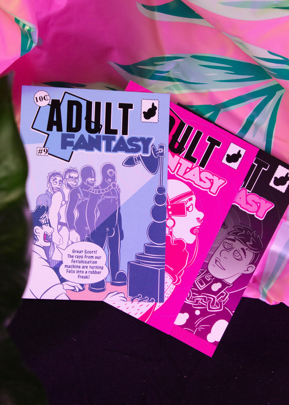 Adult Fantasy Postcard Pack #3 (3 Postcards)