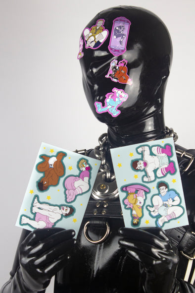 ABDL A6 Sticker Page (Double Pack)