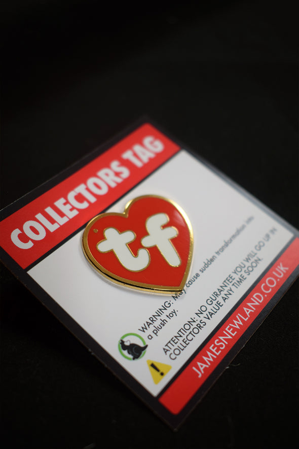 Collectors Tag Pin