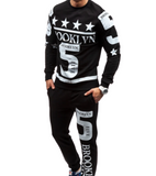 Pirouzi Official 'Got 5 On It' Slim Fit Sweatsuit