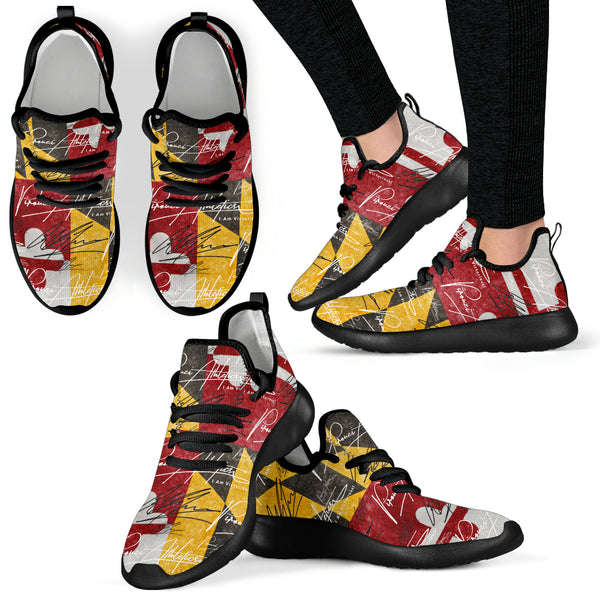 Pirouzi Athletics Official Signature 'Victory for Maryland' Sneakers