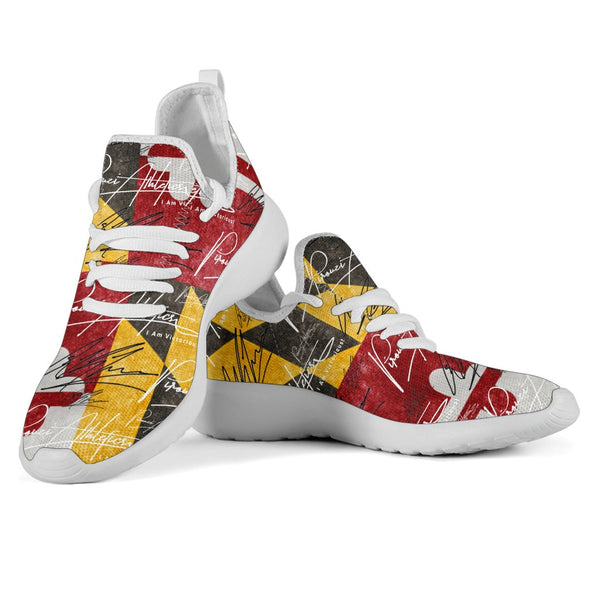 "Pirouzi Athletics Official Signature ""Maryland"" Sneakers"
