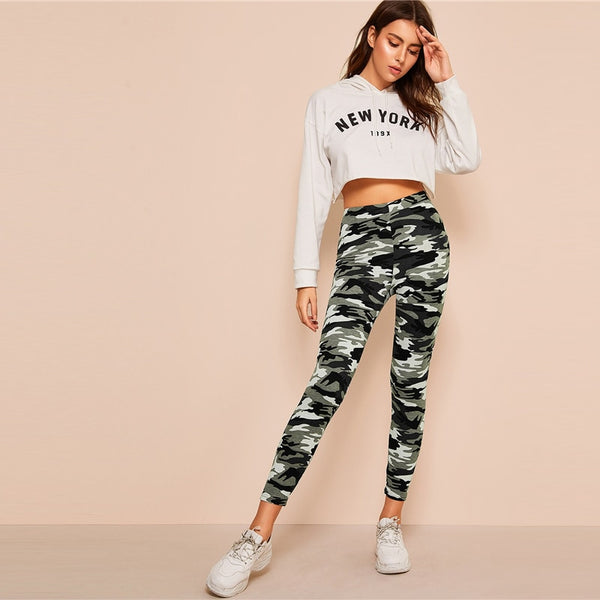 Pirouzi Official Camo Fitness Leggings