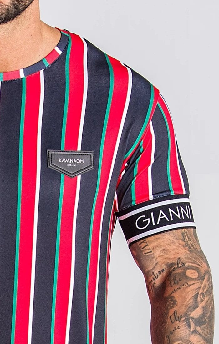 Pirouzi Official Gianni Fitted Tee - Pirouzi Athletics